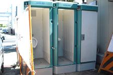 ケイトップは迅速に仮設トイレの撤去工事を行います。